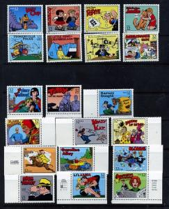 3000 Comics Mint set of singles NH VF