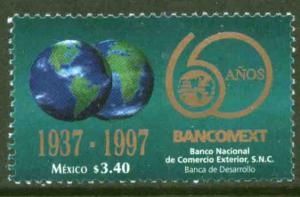 MEXICO 2040, Foreign Commerce Bank. 60th Anniversary. MINT, NH. VF.