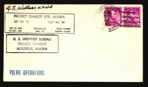 US - 3 1960s Signed Polar Expedition Covers (II) - Z16039
