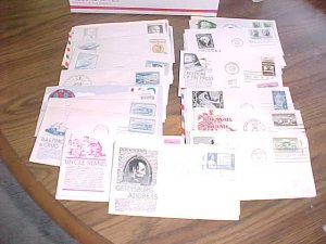 USA  500 FIRST DAY COVERS, PRIORITY MAIL BOX