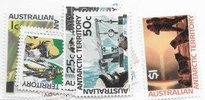 Australia Antarctic Territory #L8-L18 10 Stamps MNH CAT VALUE $72.65