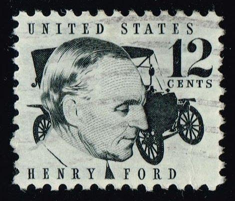 US #1286A Henry Ford & 1909 Model T; Used at Wholesale