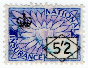 (I.B) Elizabeth II Revenue : National Insurance 5/2d