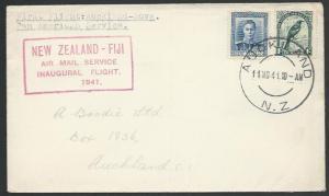 NEW ZEALAND 1941 first flight cover Auckland - Fiji........................25542