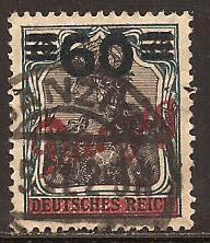 Danzig  #  62  used .      A