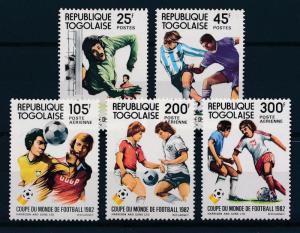 [59485] Togo 1982 World Cup Soccer Football Spain MNH