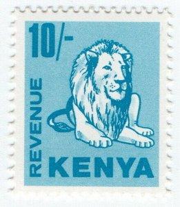 (I.B) KUT Revenue : Kenya Duty 10/- (lion)