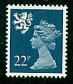 Scotland - #SMH41 Machin Queen Elizabeth II - MNH