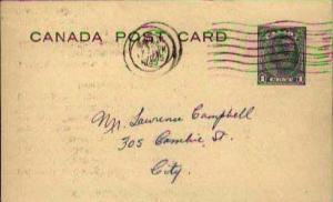 Canada, Government Postal Card, Canada British Columbia