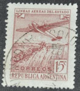 DYNAMITE Stamps: Argentina Scott #C45 - USED