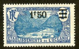 FRENCH POLYNESIA 68 MH SCV $4.00 BIN $1.75 NATURE