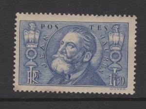 France 1936 Stamps Jean Leon Jaures Scott 314 MH