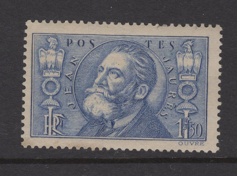 France 1936 Stamps Jean Leon Jaures Scott 314 MH