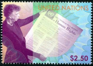 HERRICKSTAMP NEW ISSUES UNITED NATIONS Human Rights (Eleanor Roosevelt)