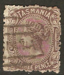 Tasmania 55 SG 149 Used Avg 1871 SCV $6.00