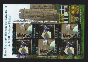 St. Vincent Grenadines  Bequia souvenir sheet  mnh sc 409-410