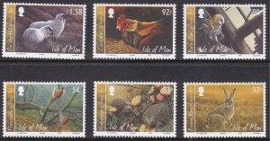 Isle of Man, Fauna, Birds, Animals MNH / 2009