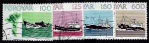Amazing Faroe Islands SC#24-27 Used VF SCV$8.75...Faroe Islands are Magical!