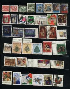 Canada  59  different Christmas used PD