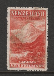 New Zealand a used?? 5/7 from the 1898 series
