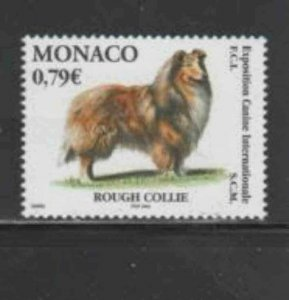 MONACO #2286 2003 INTERNATIONAL DOG SHOW MINT VF NH O.G