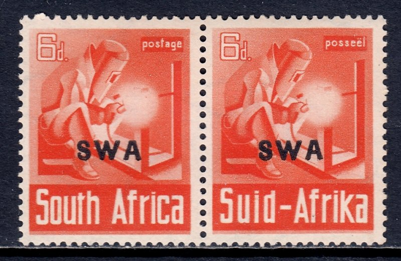 South West Africa - Scott #141 - MLH - Glazed gum, unevenness - SCV $8.00
