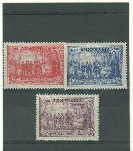 1936  AUSTRALIA  -  SG.161 / 163  -  SOUTH AUSTRALIA CENTENARY - USED