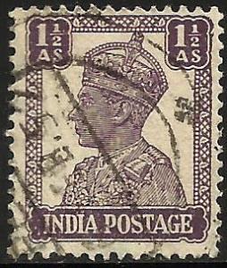 India 1942 Scott# 172A Used