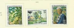 LAOS 1970 SCOTT 272-4 MH