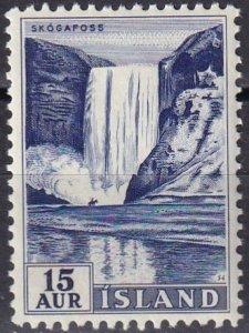 Iceland #289 MNH (SU8008)
