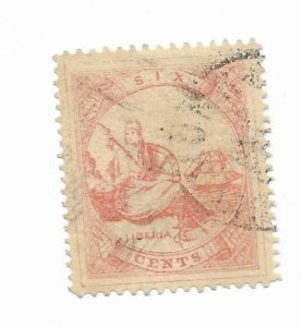 Liberia #7 Forgery Used - Stamp