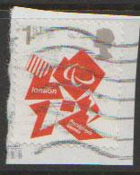 GB  QEII  SG 3250 Fine Used on piece ParaOlympic Games 2012