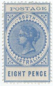 (I.B) Australia Postal : South Australia 8d (SG 271)