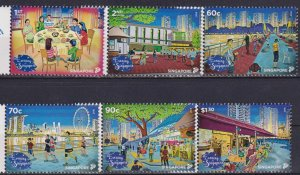 Singapore 2018 National Day - Evening in Singapore  (MNH)  - Holidays, Culture