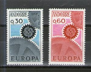 Andorra - French 174-175 MLH