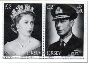Jersey Sc 1569 2012 Diamond Jubilee QE II stamp set used