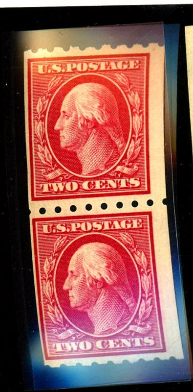 391 MINT Pair F-VF OG NH Cat $240
