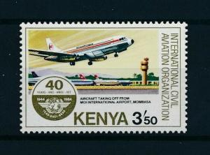 [98278] Kenya 1984 Aviation Aircraft From set MNH