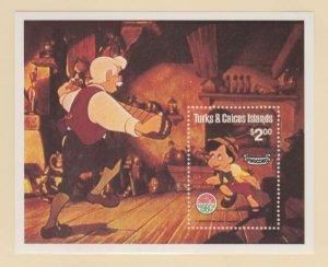 Turks & Caicos Scott #451 Stamps - Mint NH Souvenir Sheet