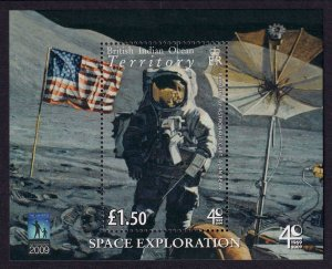 British Indian Ocean Territory Sc# 382 MNH Space Exploration (S/S)