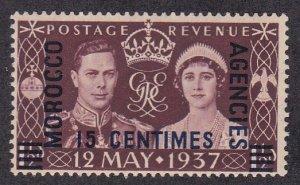 Great Britain Morocco Agencies # 439, 1937 Coronation, NH, 1/2 Cat.