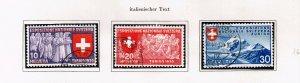Switzerland Stamp 1939 National Philatelic Exhibition - Italian Inscription $20