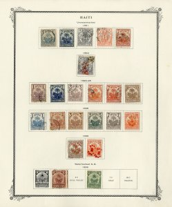 Haiti Old Time Stamp Collection
