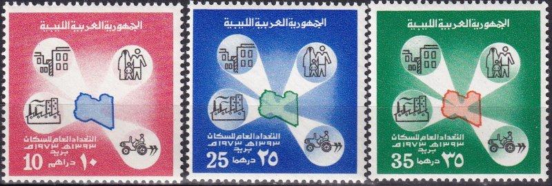Lebanon #504-6  MNH CV $21.75 (Z9163)