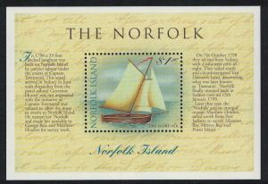 Norfolk Circumnavigation of Tasmania MS SG#MS684 SC#664