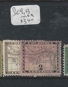 PANAMA  (P0206B)   MAP  SC 9, 13   MOG