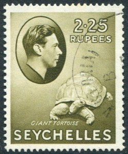 SEYCHELLES-1938 2r25 Olive Sg 148 VERY FINE USED V48966