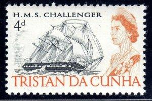 TRISTAN DA CHUNA     1965-67    SG75a    LMM