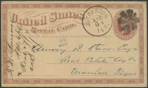 TEXAS MARION COUNTY (1876 JEFFERSON) #357