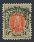 Southern Rhodesia  SG 21b  SC# 24  Used    see details